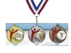 Médailles Ø50 + pastille