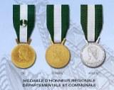 Médaille d'honneur Régionale, Départementale et Communale 35 ans