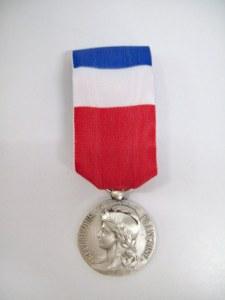Médaille du travail 20ans Argent seule