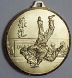 Méd 50 laiton Judo homme