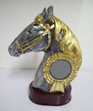 Tête cheval resine