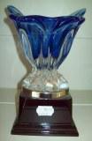 trophée verre soufflé