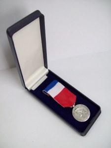 Médaille du travail 20ans Argent complete